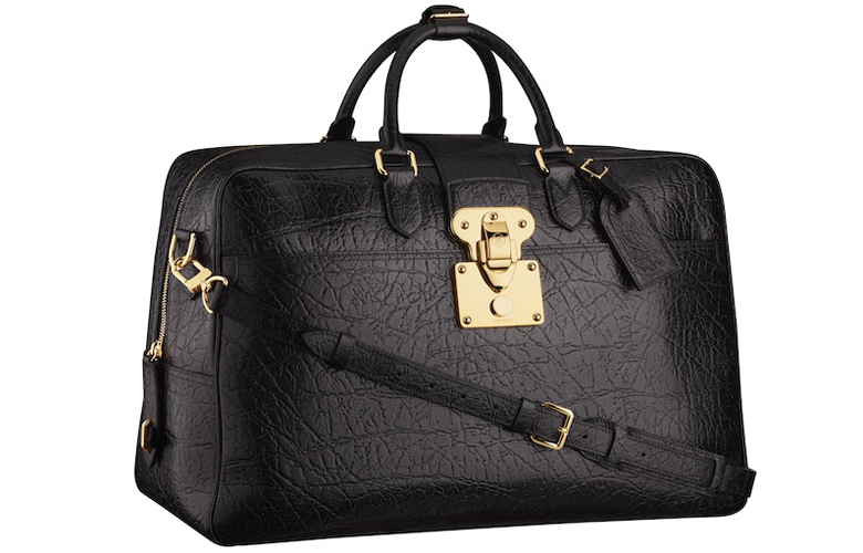 LV Cuir Indra 48 Hours Travel Bag