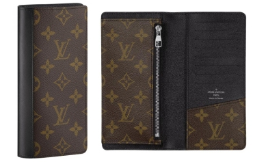 The Louis Vuitton Monogram Macassar Tanon Wallet