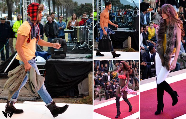 Guess Fashion Show Camps Bay Beach 01