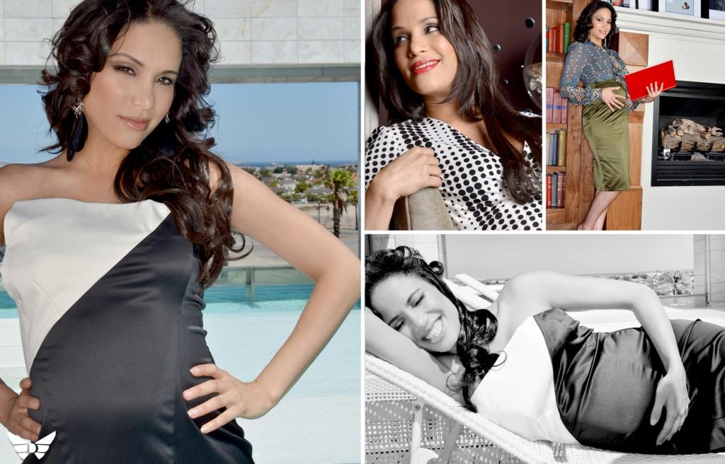 Kia Johnson, The Expresso Show Pregnant 01