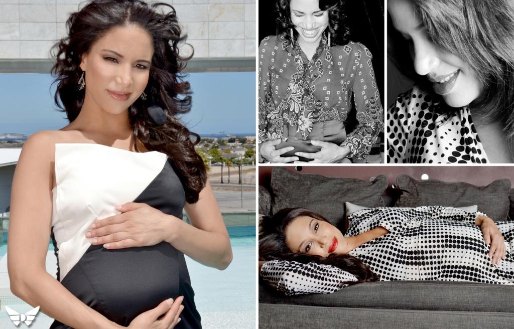 Kia Johnson, The Expresso Show Pregnant 02