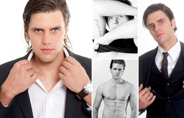 Mr South Africa 2012 Finalist, Tertius van Heerden
