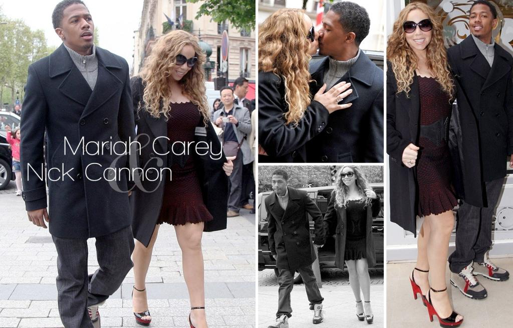 Mariah Carey, Nick Cannon, Paris