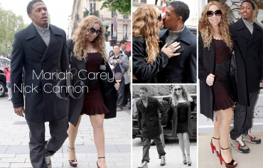 Mariah Carey, Nick Cannon, Paris