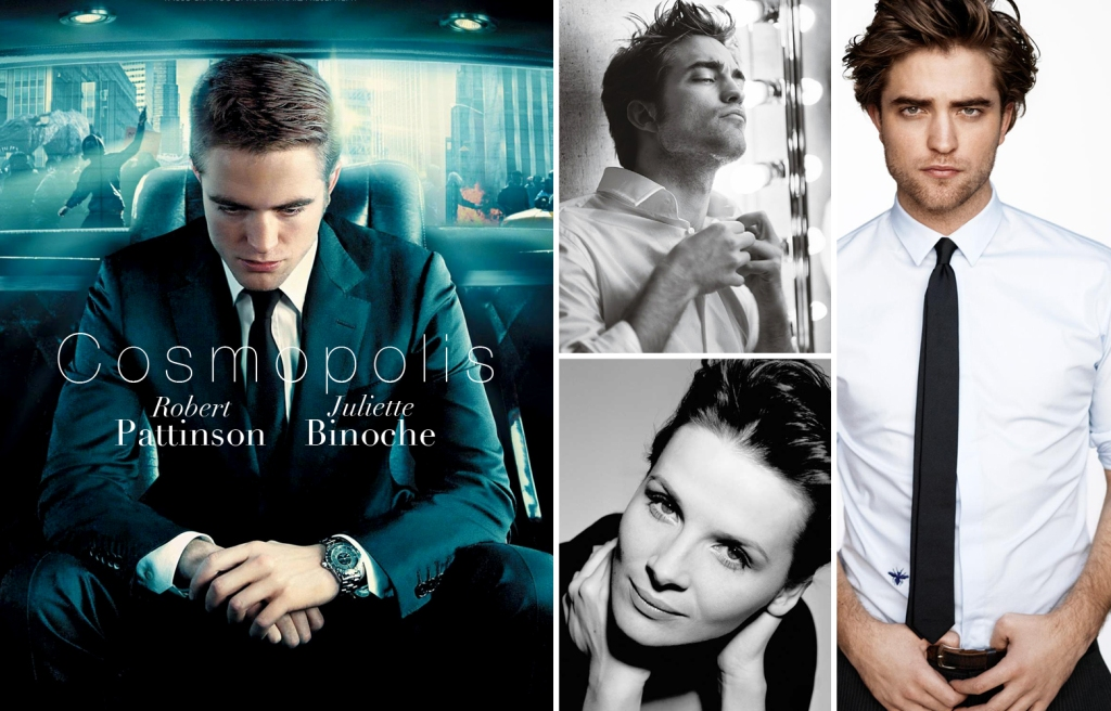 Robert Pattinson, Juliette Binoche, Cosmopolis