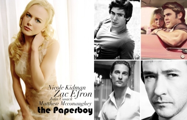 The Paperboy, Nicole Kidman, Zac Efron, John Cusack, Matthew Mcconaughey