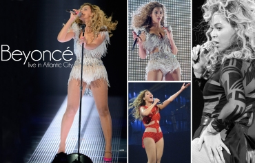 Beyonce live in Atlantic City