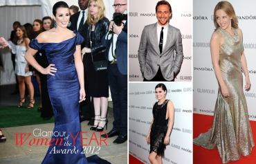 Glamour Women of Year Awards 2012, Lea Michele, Jessie J, Kylie Minogue, Tom Hiddleston