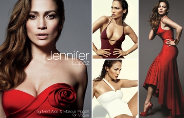 Jennifer Lopez, JLo, Mert Alas and Marcus Piggott, Vogue