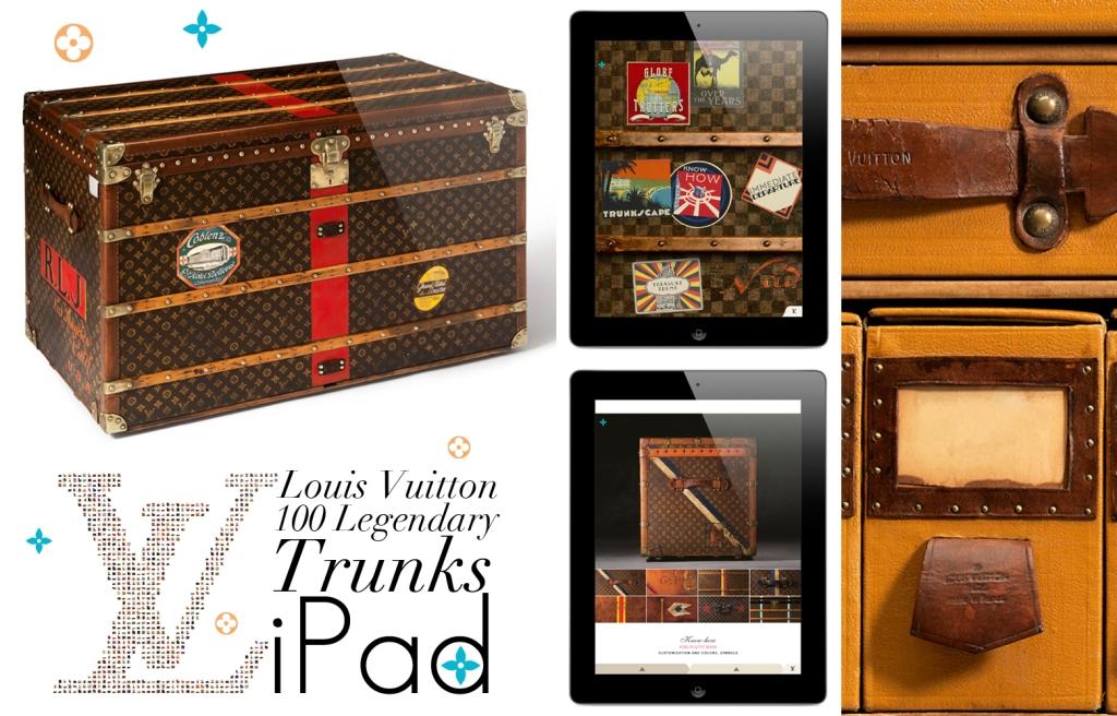 Louis Vuitton 100 Legendary Trunks iPad