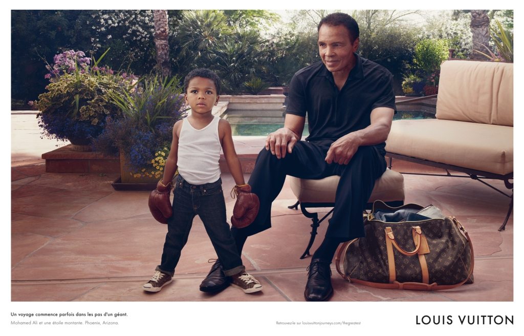 Louis Vuitton (Core Values) Muhammad Ali by Annie Leibovitz