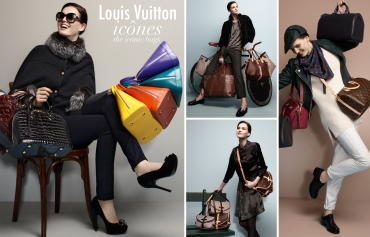 Louis Vuitton, Icones, The Iconic Bags, Speedy, Neverfull, Alma, Noe, Saumur