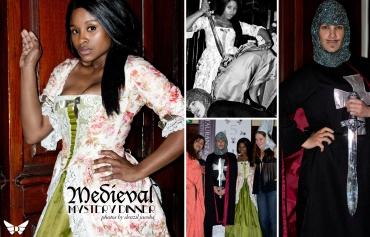 Medieval Mystery Dinner - Ayanda Tini, Tamsyn Lee Brown, Vania Cloete, Emma King