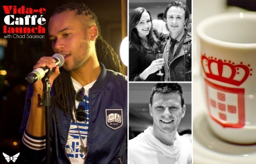 Vidae Caffe Launch, Chad Saaiman, Karisa Nicholls, Bjorn Steinbach, Ryan Harrison