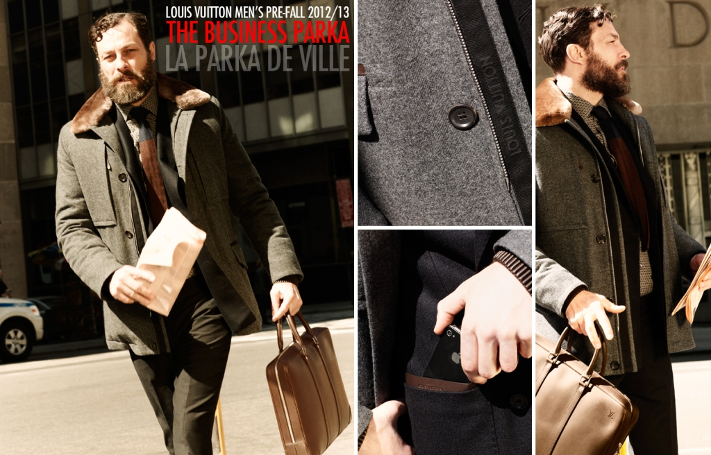 Louis Vuitton Fall 2012 2013 Men's Pre-Collection - The Business Parka