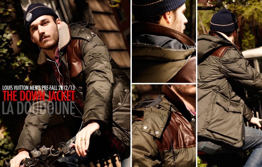 Louis Vuitton Fall 2012 2013 Men's Pre-Collection - The Down Jacket
