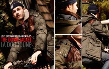Louis Vuitton Fall 2012 2013 Men's Pre-Collection - The Down Jacket