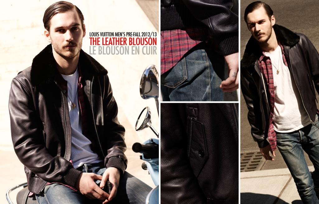 Louis Vuitton Fall 2012 2013 Men's Pre-Collection - The Leather Blouson