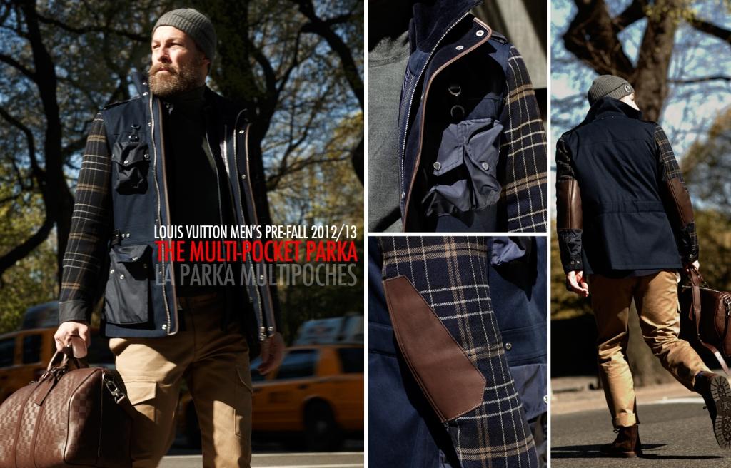 Louis Vuitton Fall 2012 2013 Men's Pre-Collection - The Multipocket Parka