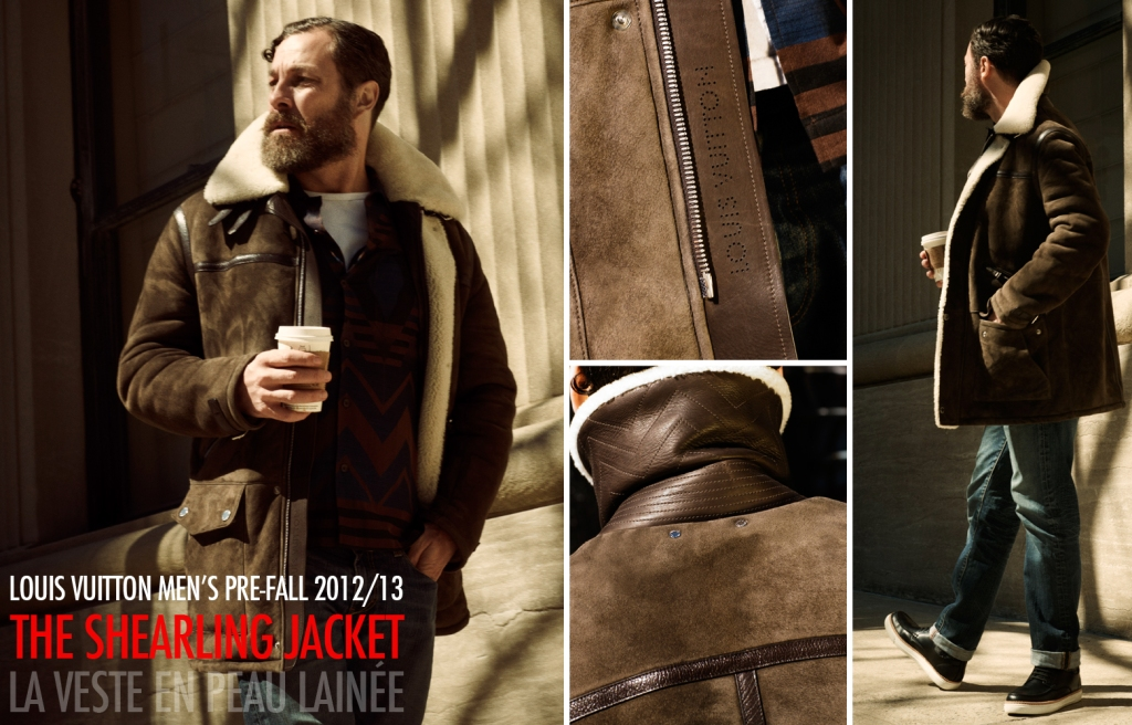 Louis Vuitton Fall 2012 2013 Men's Pre-Collection - The Shearling Jacket