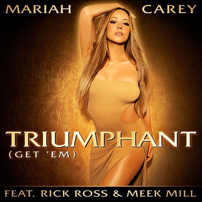Mariah Carey - Triumphant (Get 'Em) Single Cover