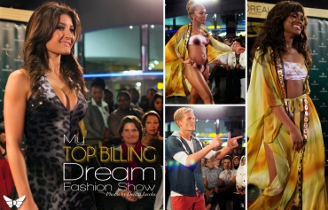 My Top Billing Dream Fashion Show, Jeannie D, Greg Kriek, Zama Ngcobo, Khanya Ngumbela