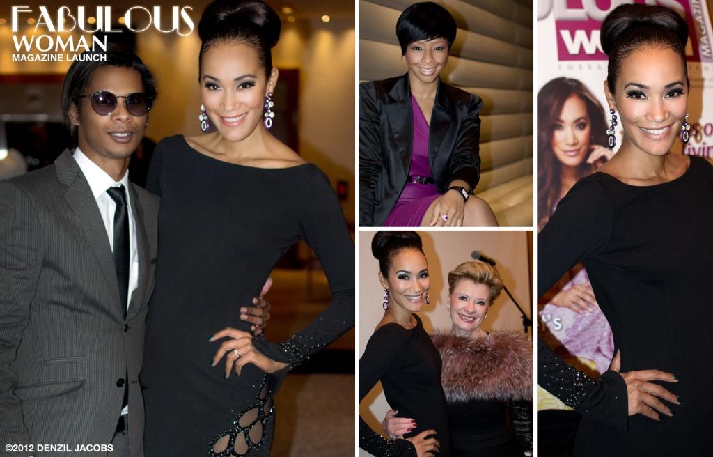 Fabulous Woman Magazine Launch, Jo-Ann Strauss, Denzil Jacobs, Boitumelo Thulo, Edith Venter