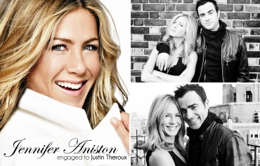 jennifer aniston engaged to justin theroux