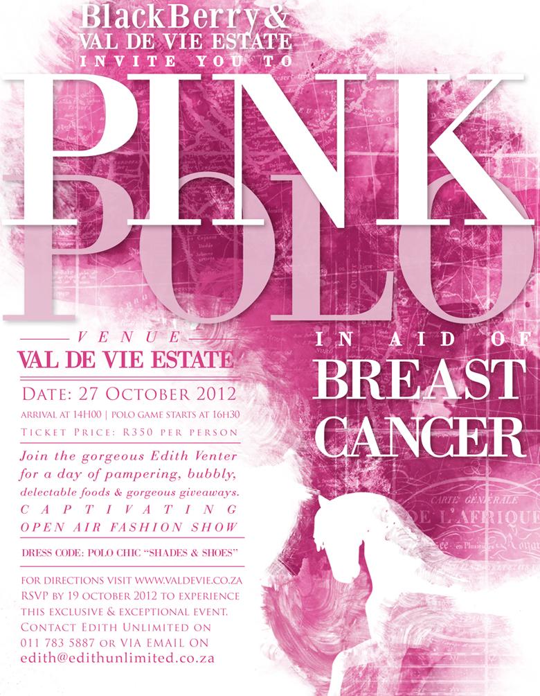 PinkPolo2012, Edith Venter