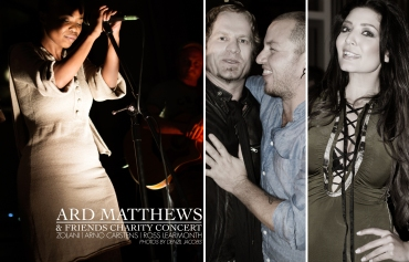 Ard Matthews and Friends, Arno Carstens, Jeannie D, Zolani (Freshly Ground) (by Denzil Jacobs)