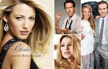 Blake Lively marries Ryan Reynolds
