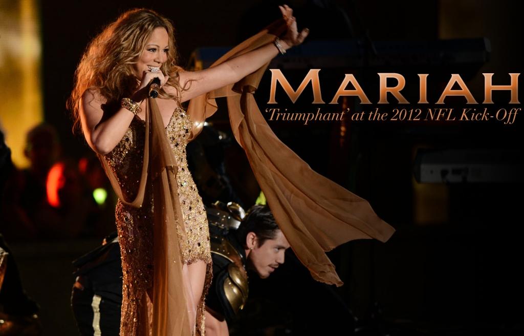 Mariah Carey, Triumphant, Live at 2012 NFL KickOff