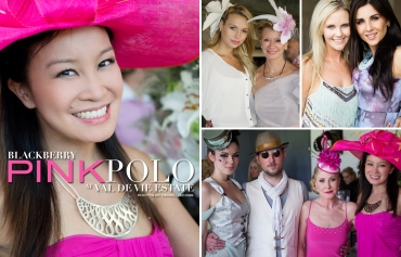 Blackberry Pink Polo 2012, Jennifer Su, Edith Venter, Roxy Louw, Pallu, The Little Hattery, Marilize De Clercq (by Denzil Jacobs)
