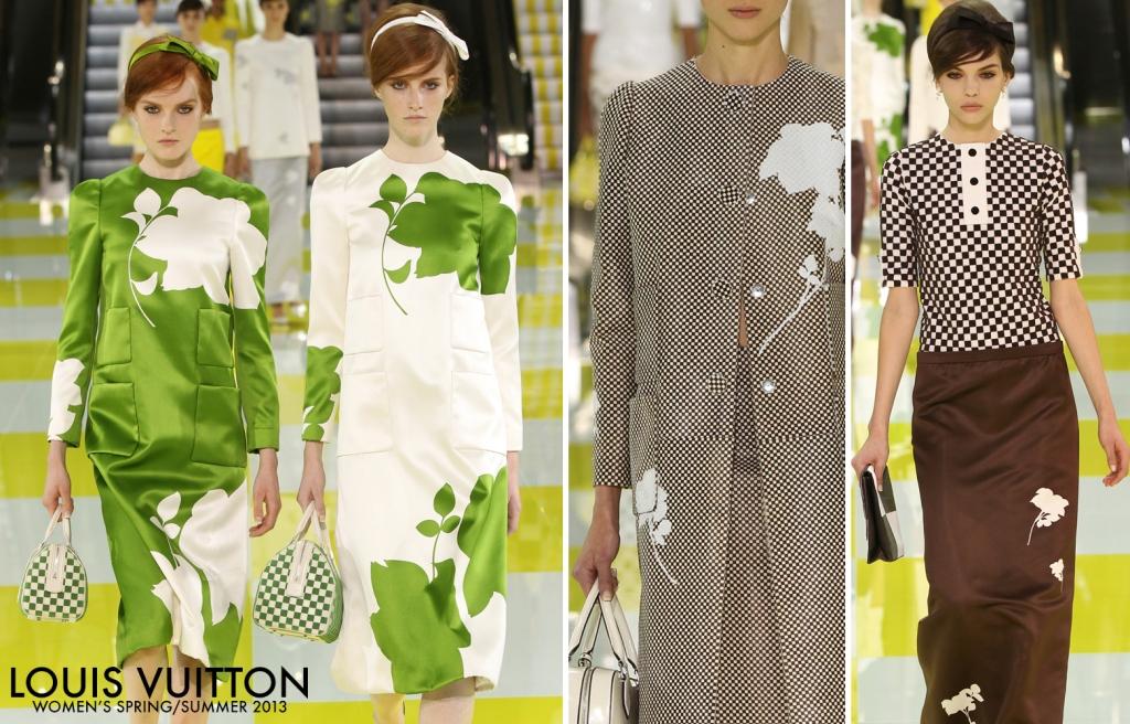 Louis Vuitton Women's Spring Summer 2013 Show 02