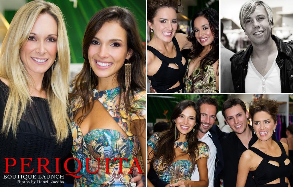 Pariquita Boutique Launch - Juliana Vasconcelos, Janez Vermeiren, Jackie Wiese, Vanessa Haywood, Tracey Lange, Dom (by Denzil Jacobs)