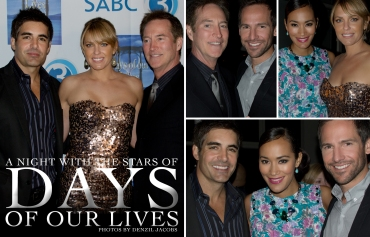 Days Of Our Lives, Arianne Zucker, Drake Hogestyn, Galen Gering, Jo-Ann Strauss, Janez Vermeiren (by Denzil Jacobs)