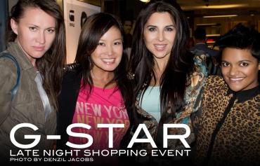 GStar Event, Jennifer Su, Marilize De Clercq, Danine Naidoo (by Denzil Jacobs)