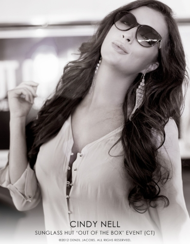 Cindy Nell, Sunglass Hut OTB CT (by Denzil Jacobs)
