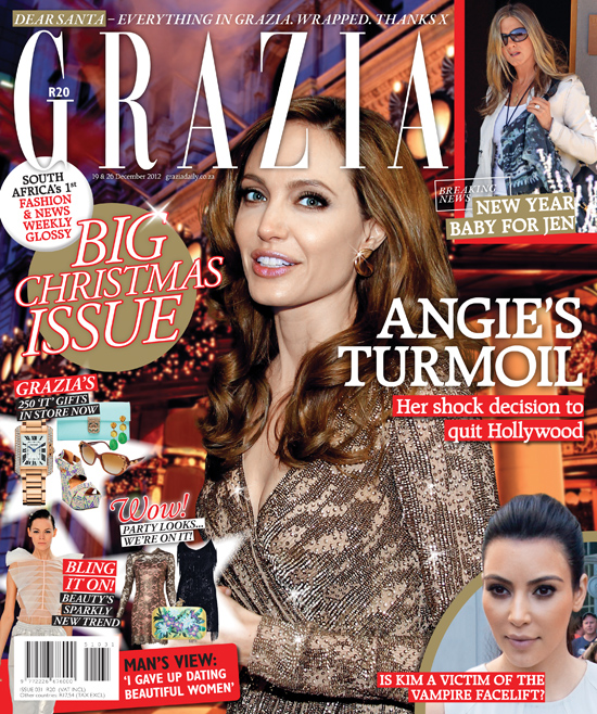 Grazia Magazine Christmas Issue (Denzil Jacobs)
