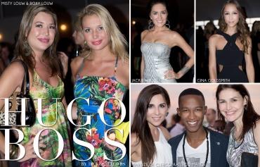 Hugo Boss, Misty Louw, Roxy Louw, Jackie Wiese, Gina Goldsmith, Marilize de Clercq, Katlego Maboe (by Denzil Jacobs)
