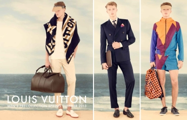 Louis Vuitton Men's PreCollection Spring Summer 2013 (by Denzil Jacobs)