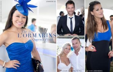 152nd L'Ormarins Queens Plate 2013, Jennifer Su, Janez Vermeiren, Lee-Ann Liebenberg, Roxy Louw, Ryk Neethling (by Denzil Jacobs)