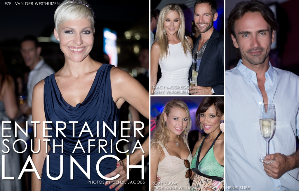 Entertainer South Africa Launch, Liezel van der Westhuizen, Roxy Louw, Janez Vermeiren, Tracy McGregor, Leigh-Anne Williams, Henri Slier (by Denzil Jacobs)
