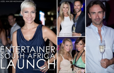 Entertainer South Africa Launch, Liezel van der Westhuizen, Roxy Louw, Janez Vermeiren, Tracy McGregor, Leigh-Anne Williams, Henri Slier (by Denzil Jacobs)