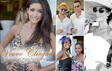 Veuve Clicquot Masters Polo, Jeannie D, Jo-Ann Strauss, Ryk Neethling, Ryan Botha, Thandie Kupe (by Denzil Jacobs)