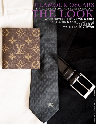 02.25 The Look, Hilton Weiner, Louis Vuitton, Burberry, Gap (Glamour Oscars 2013) (by Denzil Jacobs)