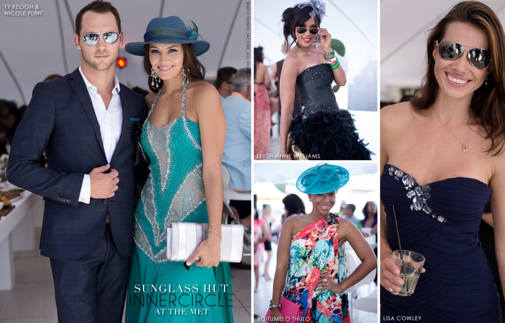 03 Sunglass Hut, J&B Met 2013, Ty Keogh, Nicole Flint, Boitumelo Thulo, Leigh-Anne Williams, Lisa Cowley (by Denzil Jacobs)