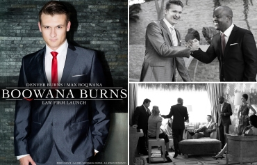 Boqwana Burns Law Firm Launch, Denver Burns, Max Boqwana (by Denzil Jacobs)