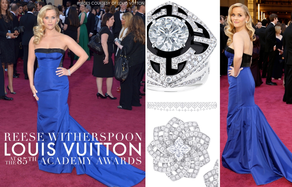 Louis Vuitton, Reese Witherspoon, Oscars, 85th annual Academy Awards, (by Denzil Jacobs)