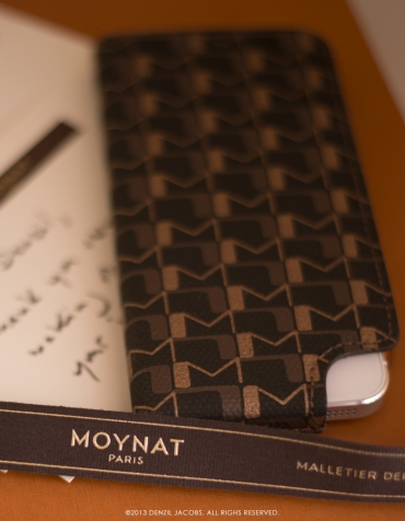 Moynat, Virage iPhone Case (photo by Denzil Jacobs)